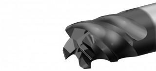 UniCut RXL (F8640) univerzální rohová fréza, čtyřzubá, s rohovým radiusem, odlehčená, semistandard - na přání č.2
