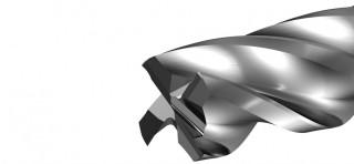 Aero 4Z (F8900) leštěná rohová fréza, čtyřzubá č.2